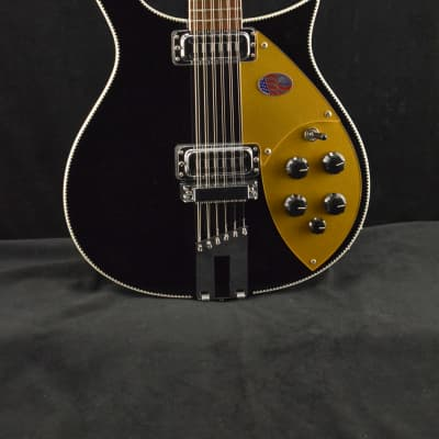 Rickenbacker 660/12 Jetglo with Hardshell Case for sale