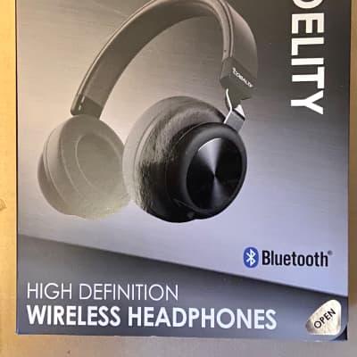Cobalt Fidelity Bluetooth Headphones Black