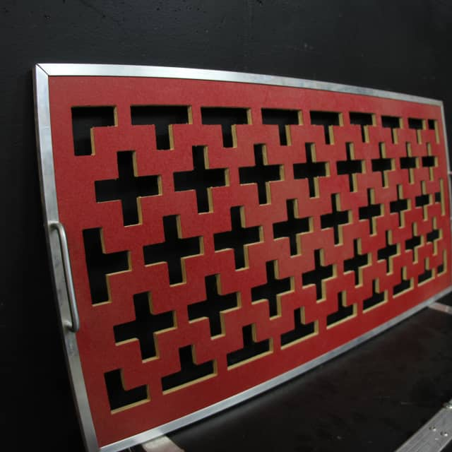 "Brady Cases Custom ""Tetris"" Red Flat Board image"