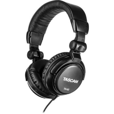 Tascam TH-02-B Multi-Use Studio Grade Headphones (B-Stock)