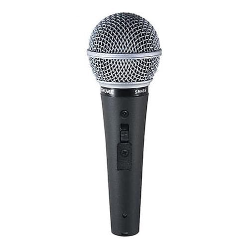 shure sm48s lc cardioid dynamic handheld wired microphone reverb. Black Bedroom Furniture Sets. Home Design Ideas