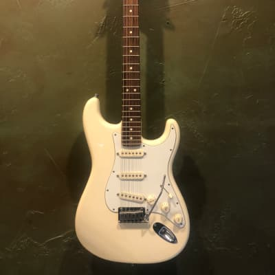 Fender Jeff Beck Artist Series Stratocaster with Hot Noiseless Pickups 2001 - 2018 White for sale