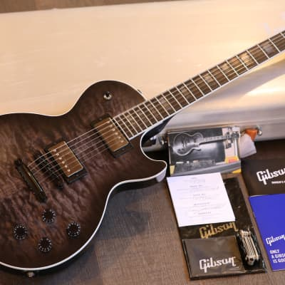 MINTY! 2019 Gibson Limited Edition Dark Knight Electric Guitar Trans Smoke Black Satin + OHSC Papers for sale
