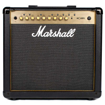 "Marshall MG50GFX 4-Channel 50-Watt 1x12"" Guitar Combo with Effects"