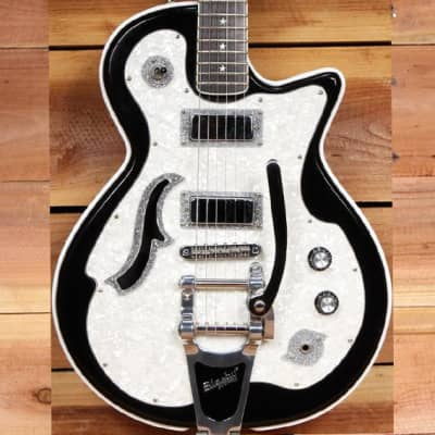 DiPinto Belvedere Deluxe Awesome Semi-Hollow Guitar Super Clean! Korea MIK 12080 for sale