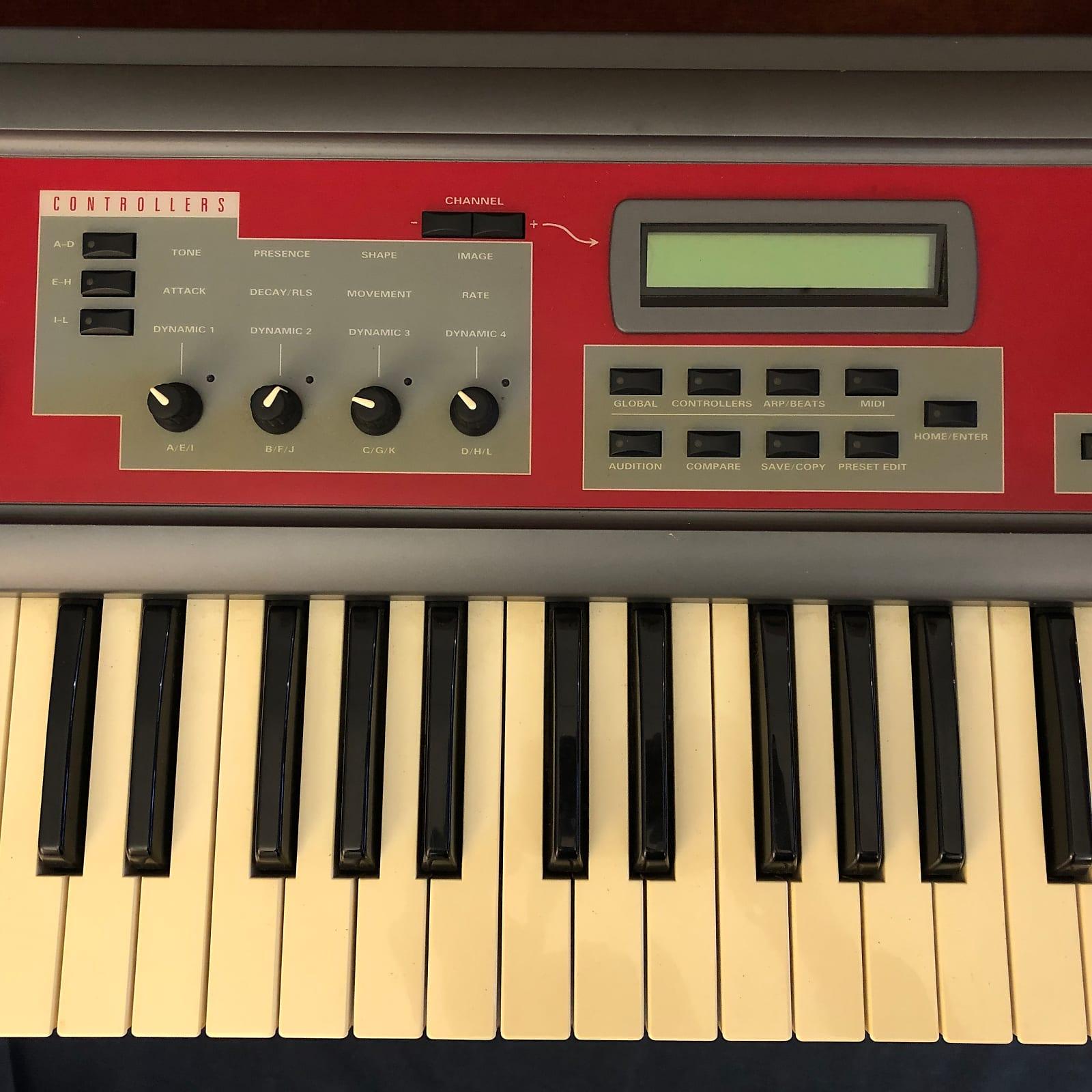 Ensoniq E-MU Halo 64-Voice Expandable Digital Synthesizer Keyboard