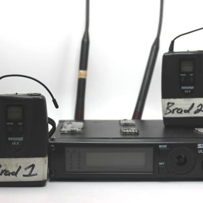 used Shure ULXP4 Wireless Unit, Fair Condition