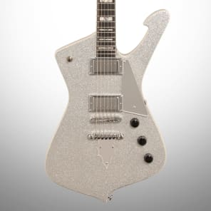 Ibanez PS120SP-SSP Special Edition Paul Stanley Signature Series Electric Guitar Silver Sparkle