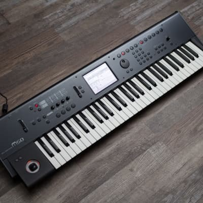 Korg M50 61-Key Music Workstation Keyboard