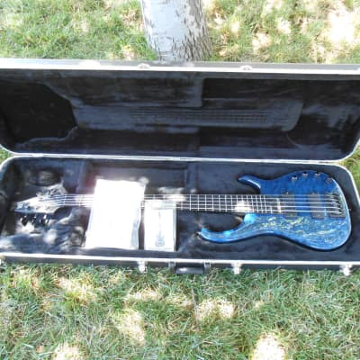 Modulus Quantum Five-String 2004 Transparent Blue for sale