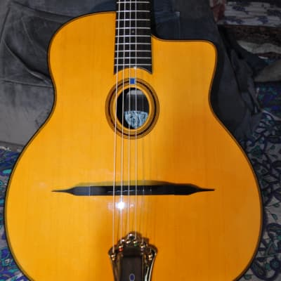 Gitane Modele Lulo Reinhardt Gypsy Jazz Acoustic/Electric Guitar for sale