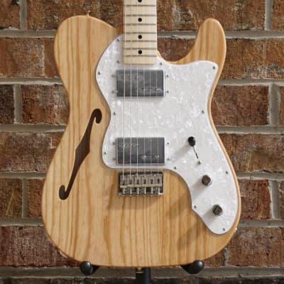 Fender '72 Telecaster Thinline 2019 Natural for sale