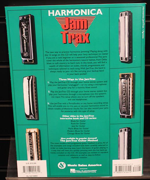 Harmonica Jam Trax Softcover Book w/CD | Dr  Guitar Music