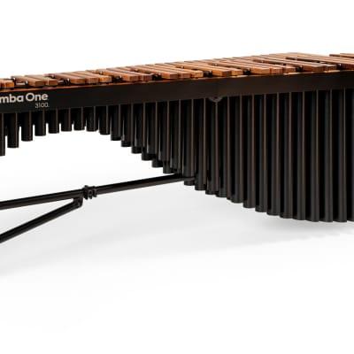 Marimba One 9304 - 3100 5.0 Octave with Basso Bravo resonators, Traditional keyboard