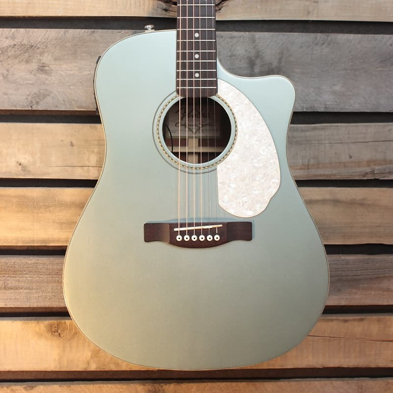 used 2009 fender sonoran sce acoustic electric guitar with reverb. Black Bedroom Furniture Sets. Home Design Ideas