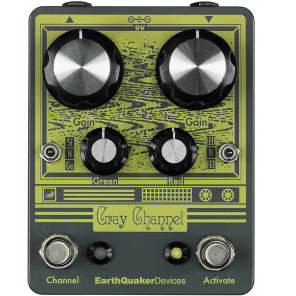 Earthquaker Devices Gray Channel Dynamic Dirt Doubler for sale