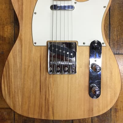 Trinity River T-Style 2000s Natural Oiled/Red w/ Hardshell Case for sale