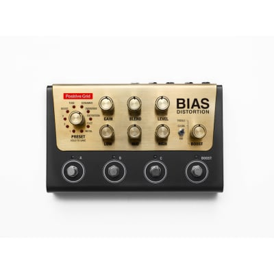 Positive Grid Bias Distortion Pro Pedal - Tone Match w/ Software for sale
