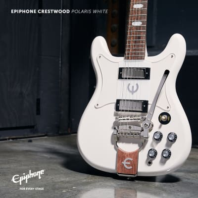 Epiphone Crestwood Polaris White ~ On Order for sale