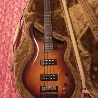 Fibenare Globe Bass standard 2015 sunburst for sale