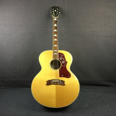 Cortez J200 Jumbo Acoustic Guitar Natural Finish Made in Japan for sale