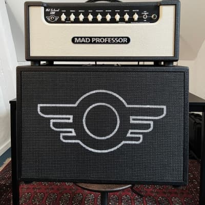 Mad Professor  Mad Professor Old School 51RT Head + MP212 Cab 2016 Black/White for sale