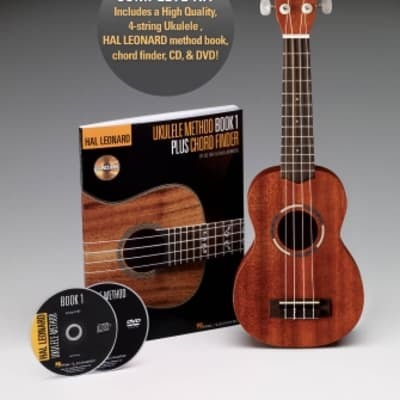 Hal Leonard Ukulele Starter Pack Includes a Ukulele, Method Book w/Online Audio, and DVD