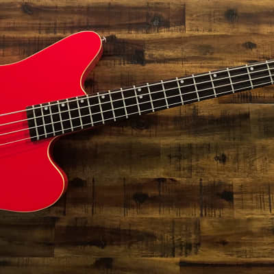 1990's Charvel Surfcaster Acoustic/Electric Bass Red for sale