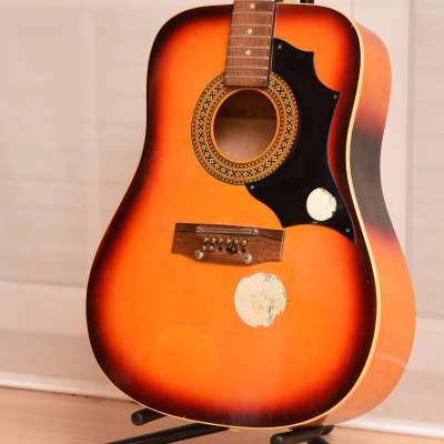 Klira 12 String – 1960s German Vintage Western Guitar / Gitarre PROJECT for sale