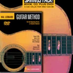 Hal Leonard Guitar Method Beginner's Pack: Book 1/CD & DVD Pack