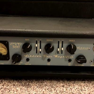 Ashdown EVO 500 500W Rackmount Bass Head for sale