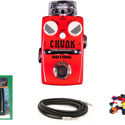 New Hotone Skyline Chunk Vintage Guitar Effects Pedal w/Free Cable,Winder & Pics for sale