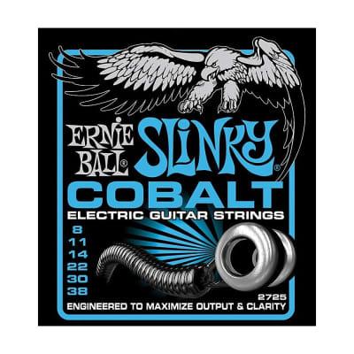 ERNIE BALL Cobalt Extra Slinky Electric Guitar Strings (2725) Single Pack