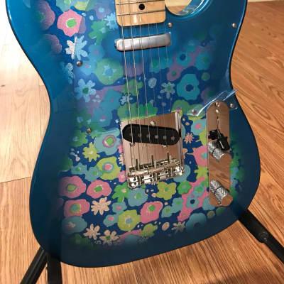 Fender '69 Reissue Telecaster  2017 Blue Flower for sale