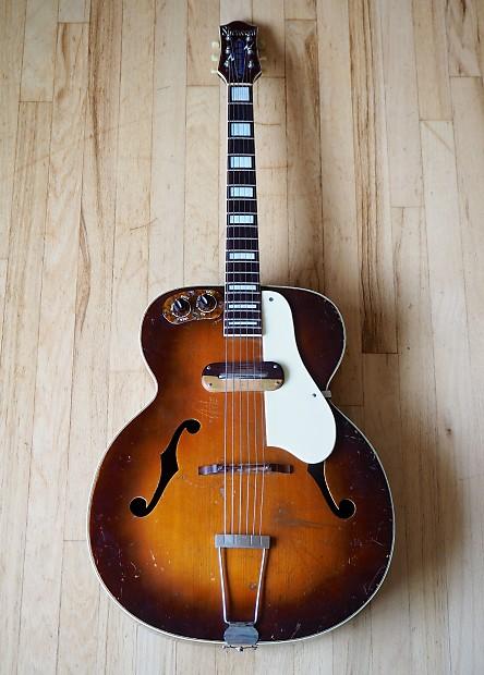 1940s kay sherwood deluxe vintage archtop electric guitar reverb. Black Bedroom Furniture Sets. Home Design Ideas