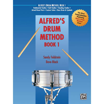 Alfred's Drum Method: Most Comprehensive Beginning Snare Drum Method - Book 1
