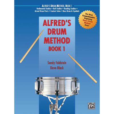 Alfred's Drum Method: Most Comprehensive Beginning Snare Drum Method - Book 1