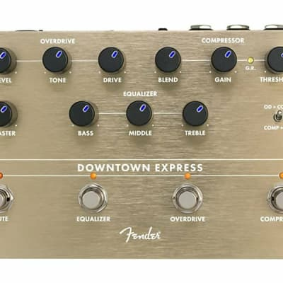 Fender Downtown Express Bass Preamp/Multi Effects Pedal (Designed by Alex Aguilar) ***New-In-Box***