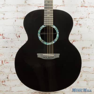 Rainsong JM1000N2 Left-Handed Acoustic Electric Guitar with LR Baggs Stagepro Element (USED) for sale