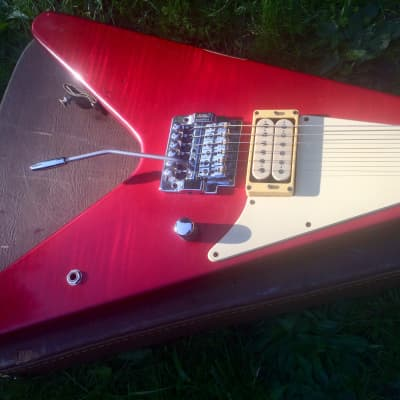 Hamer USA Made KK Downing Vector V 84/85 Red for sale