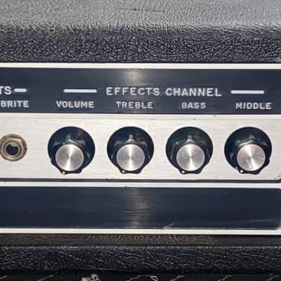 Serviced EMC S220 in Black Tolex Guitar/Bass/PA Head for sale