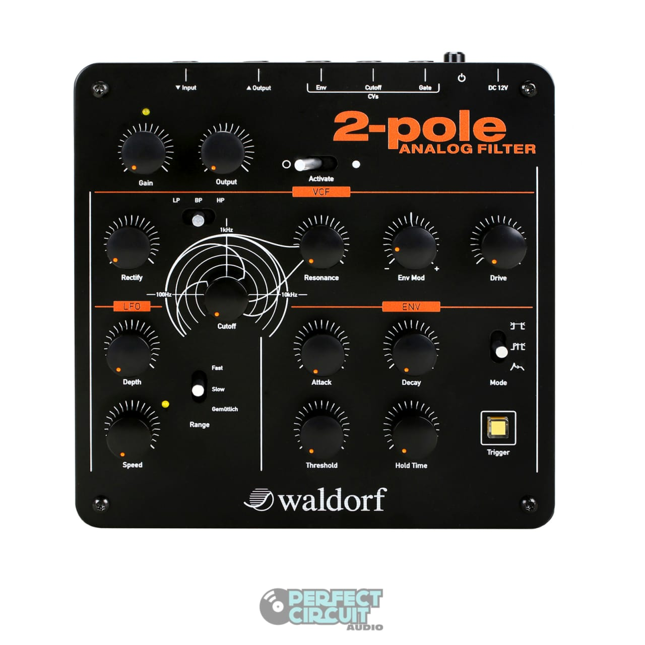waldorf 2-pole analog filter effects - new