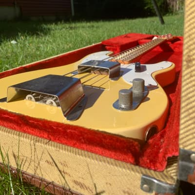 Fender Telecaster Bass - EARLY 1968  Blonde - Refin ('67 neck stamp date) for sale