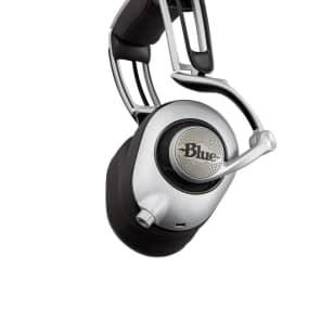 Blue Ella Over-Ear Closed-Back Headphones