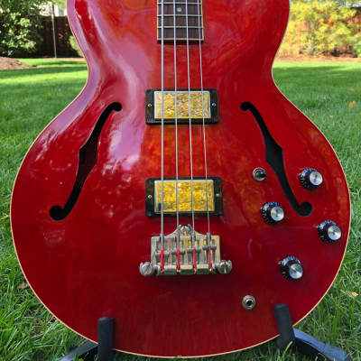 Gibson ES-335 Bass Vintage Faded Cherry for sale