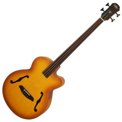 Aria FEB-FL Acoustic Bass Fretless for sale