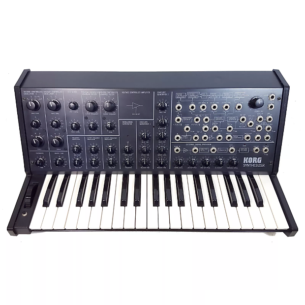 Modular Synthesizer Logos : korg ms 20 monophonic analog synth reverb ~ Vivirlamusica.com Haus und Dekorationen