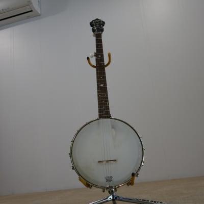 Saga 5-String Open Back Banjo, excellent player for sale