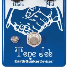 Earthquaker Devices Tone Job V2 EQ and Boost Effect Pedal