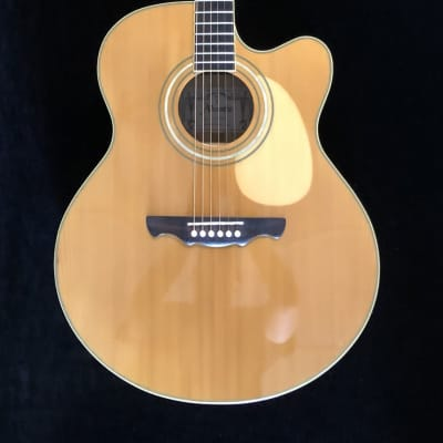 Used Alvarez AJ-60SC Acoustic Electric Guitar - With Hardshell Case for sale